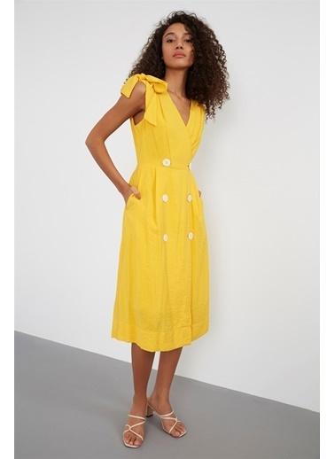 Setre Elbise Sarı